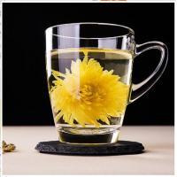 China Hot Sale Premium Old fashion Glass Tea Mugs for drinking from Anhui Langxu Glassware on sale