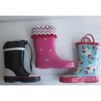 China Childrens Rubber Rain Boots on sale