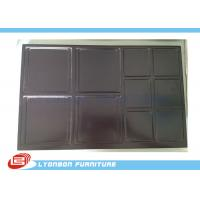 China Chocolate engraved Wood Display Accessory wholesale