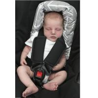 China Soft Infant Car Seat Head Support , Fashion Baby Headrest For Car Seat on sale