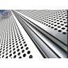 China Building Decorative Perforated Sheet Metal Panels , Decorative Metal Sheets wholesale