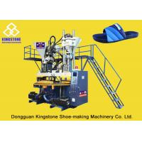 Rotary Three Color PVC Shoe Injection Molding Machine For Slipper Sandals