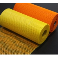 China 145g 5*5mm Alkali Resistant Roofing Fiberglass Mesh and Fiberglass Plaster Net wholesale