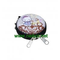 China small size coins collection tin box with zipper tin purse on sale