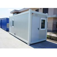 China Insulation Modular Container House Portable With 75mm Glass Wool Sandwich Panel wholesale