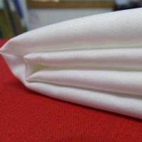 China polyester/cotton fabric 80/20 white color ready goods on sale