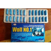 China NEw Wolf No.1 sex capsule for male enhancement blue sex capsules wholesale