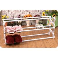 Buy cheap 3 Tier Plastic / Chrome 10 Pair Shoe Storage Racks JP-SR4023 from wholesalers