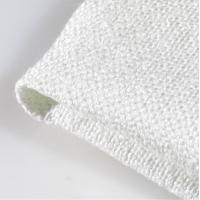 China 2626 Texturized 1/3 Twill Weave Fiberglass Cloth , Fire Resistant Material Fabric wholesale