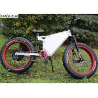China 48V 20Ah Electric Mountain Bikes With Fat Tires And Lithium Ion Battery wholesale