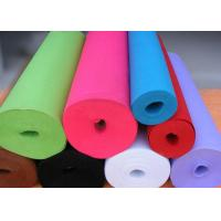 China Green Needle Punched Non Woven Rolls Non Woven Cleaning Cloths on sale