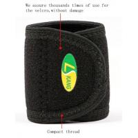 China neoprene laminated with OK terry fabric High Breathable,Sweat-absorbent Wrist Band support wholesale