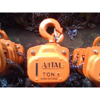 China 0.5 ton to 50 ton HS-VT Series Manual Chain Hoist / Chain Block For Construction Site wholesale
