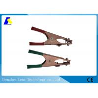 China Spring Loaded Mig Earth Clamp , Arc Welding Clamps 500A Alligator Clip Style wholesale