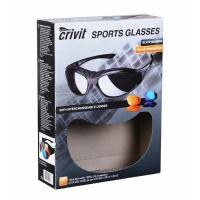 China Paper Box With Window for Sports Glasses , Rigid Window Boxes on sale