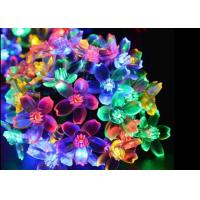 Buy cheap Waterproof Blossom Solar Powered Outdoor String Lights 30 LED / 50 LED Lamps from wholesalers