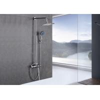 China European Designed Bathroom Shower Set ROVATE Handheld Plastic Head Compact Size on sale