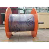 China Big Wire Rope Winch Drum For Hoisting And Crane With Connection Shaft wholesale