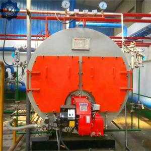 China 2 4 6 10 Ton Industrial Diesel Oil Gas Fired Small Steam Boiler Price For Beer Production Line wholesale