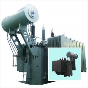 China Double Column Electrical Power Transformer 35kV - 6300kVA Low Loss SZ Series wholesale