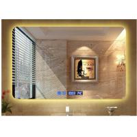 Buy cheap Modern hotel illuminated waterproof mirror led square washroom mirror anti from wholesalers