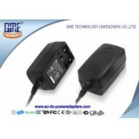 China Interchangeable 12V 1A  Universal AC DC Adapters With EU US UK AU Plug wholesale