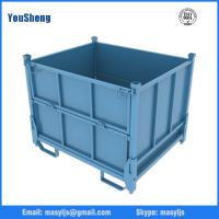 China metal storage container with lid wholesale
