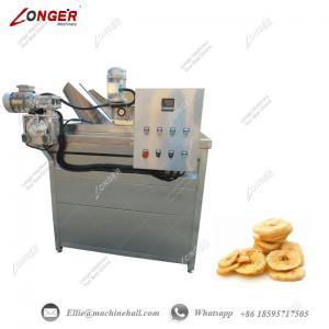 China Banana Chips Frying Machine Commercial Banana Chips Frying Machine Industrial Banana Chips Fryer Equipment Fryer wholesale