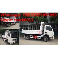 China 2019s new cheapest price dongfeng 4*2 LHD 3-5tons dump tipper truck for sale, factory sale dongfeng LHD tipper truck wholesale