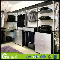 China aluminum profile modern design bedroom furniture save space cloth modular wardrobe wholesale