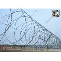 China 22m Blade Length O.D 500mm Concertina Razor Wire Fencing | China Factory wholesale