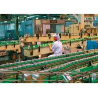 China 5T / H Gable Top Carton Package For Apple Juice Processing Line wholesale