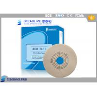 Comfortable base plate with full hydrocolloid,release film
