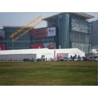 China Temporary Big Tent for Exhibition Aluminum Clear Span Large Trade Show  Marquee 30x60m wholesale