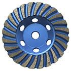 China Turbo diamond cup wheel for granite,competitive price with high quality,cutting fast wholesale