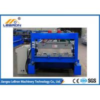 China Full Automatic Floor Deck Roll Forming Machine , Steel Sheet Forming Machine wholesale