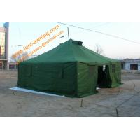 China Waterproof Outdoor Army Tent Pole-style Galvanized Steel Waterproof  Military  Camping Tents wholesale