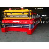 China High Precision Cold Roll Forming Machine , Metal Deck Forming Machine 7-15m/Min Speed wholesale