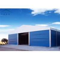 China Waterproof Fabric Sidewall Warehouse Tent Clearspan Structure For Storage wholesale