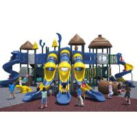 Cool Series Outdoor Playground Equipment Anti - Crack With Big Play Towers And for sale