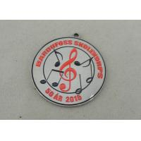 China Die Stamped Synthetic Enamel Medal Nickel Brass Award Medals For Music Club wholesale