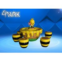 China Indoor Amusement Game Machines , 5 Chairs Kids  Entertainment Hornet Sand Table on sale
