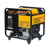 China Single Cylinder Open Type Diesel Engine Generator 12KW Max Power Highly Durable wholesale