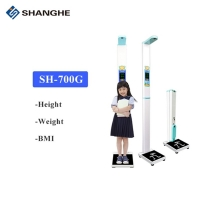 China Bmi Lcd Screen 7'' 180cm Kids Height Weight Scale wholesale