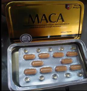China MACA sex pills natural sex enhancer for men wholesale