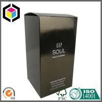 China Gold Color Metallic Paper Box for Cosmetic Perfume Packaging Carton Box wholesale