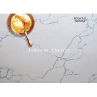 China 3m Length 2cm / 3cm Thickness Quartz Stone Countertops Smoothness Compact Structure wholesale