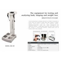 China Health Body Fat Composition Machine , Body Analysis Machine Touch Screen wholesale