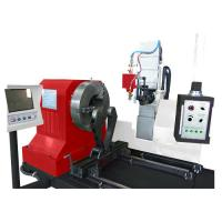 Buy cheap 1600mm 6 axis CNC Pipe Profile Plasma Cutting Machine ; round pipe CNC cutting from wholesalers
