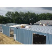 Buy cheap Bolts Connection Steel Structure Workshop For Wood Waste Processing Plants from wholesalers